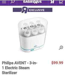 Philips ADVENT 3-in-1 Electric Steam Sterilizer!!