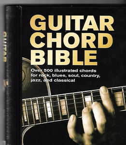 Guitar Chord Bible Book by Phil Capone