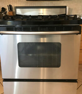 Kitchenaid gas stage/stove. Digital panel defect. As is.