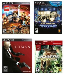 PS3 Jeux Playstation 3 Games