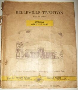 VINTAGE 1960 BELL TELEPHONE COMPANY  PHONE BOOK