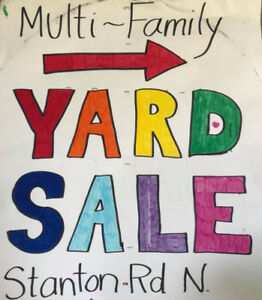 5 Family Yard Sale