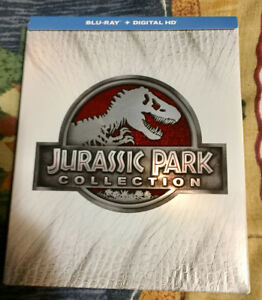 Jurassic park Collection Blu-Ray et 3D Comme neuf