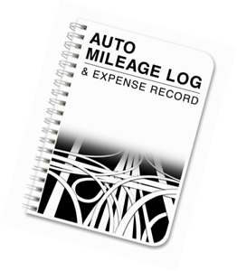 Bookfactory Auto MILEAGE Log Book Automobile Expense Record Notebook 124  Pages