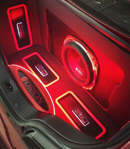 CAR AUDIO INSTALLATION FROM $20 -AMP AND SUB INSTALL FROM $60
