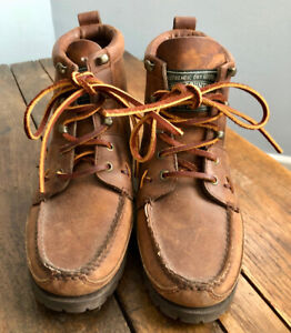 Vintage Ralph Lauren Polo Country Hiking Boots Sz 8