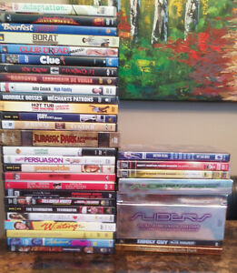 DVDs for sale - movies and TV shows