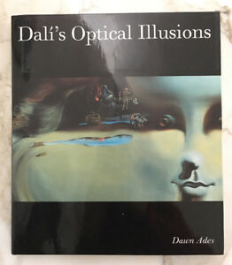 Dali's optical illusions hardcover book