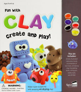 New Fun With Clay Create And Play