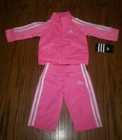 """NEW """"Adidas"""" sport's suite for a 3 months of age little girl"""