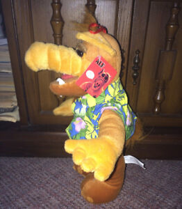 "ALF Plush Stuffed 12"" Hawaiian Shirt Toy 1980's T.V. Show w Tag"