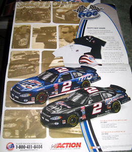 Miller Dodge (Autographed Hand Signed) Rusty Wallace Postcards