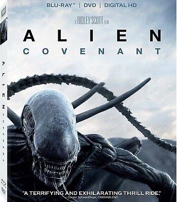Alien Covenant Blu Ray Dvd Digital Hd W Slipcover Brand New Unopened