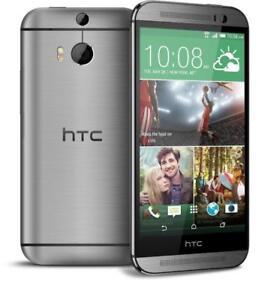 HTC ONE M8 UNLOCKED/DEBLOQUE FIDO ROGERS CHATR PUBLIC MOBILE VIRGIN KOODO TELUS BELL ANDROID WIFI CAMERA BLUETOOTH CUBA