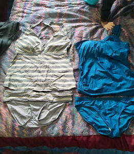 2 maternity Bathing Suits
