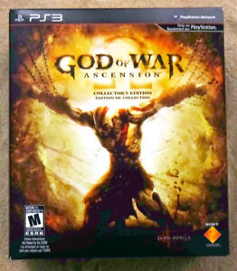 God of War Ascension - Collector's Edition - PS3 - with Statue