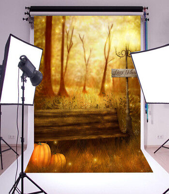 Celebrate Halloween Photography Background 5x7ft Vinyl Photo Studio - Halloween Studio Backdrops