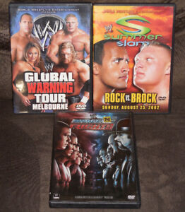 WWE Wrestling DVDs [ALL THREE FOR $10!]