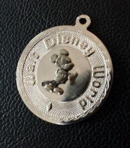 Vintage silver WALT DISNEY WORLD MICKEY MOUSE PENDANT