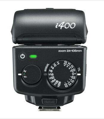 Blitz Nissin i400 MFT Micro 4/3 Panasonic / Olympus DSLR Kamera Blitzgerät TTL