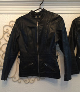 VESTON MOTO-BIKER JACKET- GREAT QUALITY GR: 6-7