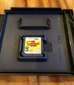 nintendo DS The Simpsons Game