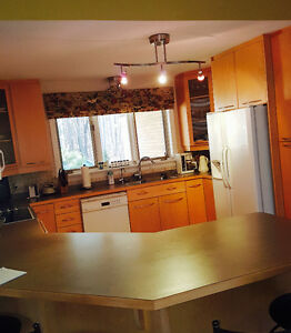Solid Wood - Complete Kitchen (cabinets & appliances)