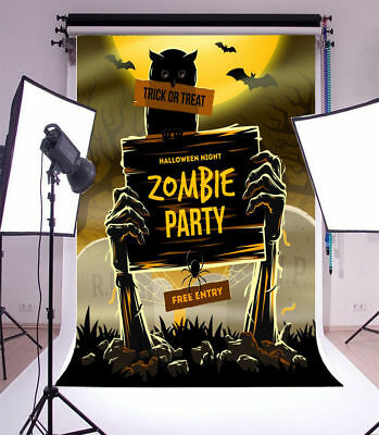 Photography Backdrops Funny Halloween Vinyl Studio Props Photo Backgrounds