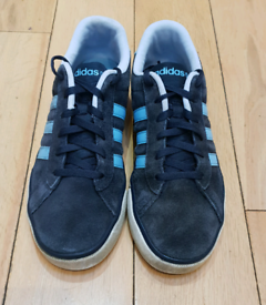 Adidas Neo Trainers - Navy Suede