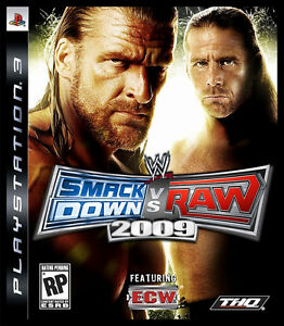 Smackdown Vs Raw 2009 - PS3