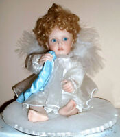"""PRICE REDUCED MOVING ---- """"Little Teardrop"""" Porcelain Doll"""