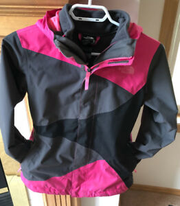 MINT NORTH FACE GIRLS TRICLIMATE JACKET SIZE  MEDIUM 10-12 years