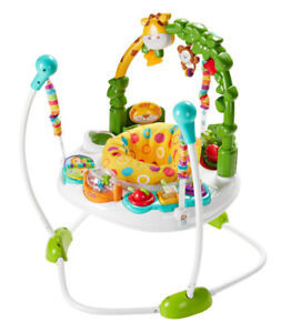 Fisher Price Go Wild Jumperoo-Baby Exercauser