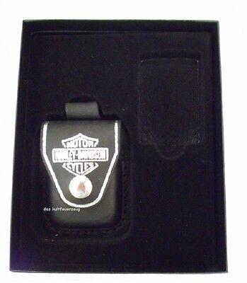 Zippo Harley Davidson Pouch Geschenk Set