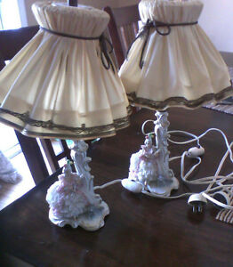 Antique Lamps Vintage Germany Set of Two - Priced to sell