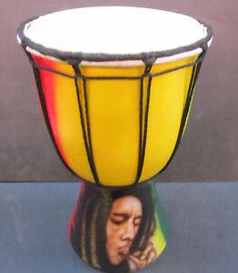30 cm Bob Marley Rasta Skinhead Drum