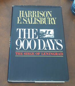 The 900 Days, The Siege of Leningrad, Harrison Salisbury 1969 Kitchener / Waterloo Kitchener Area image 1