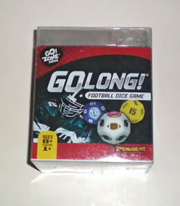 Go Long Football Dice Game