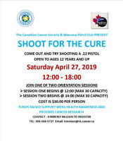 Shoot For The Cure - Wascana Pistol Club