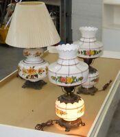 Lampe luminaire plafonnier/ceiling fixture  vintage antique retr
