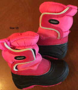 Size 11 - 13 Winter boots - Girls London Ontario image 4