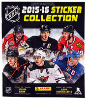 2015-16 Panini Hockey Stickers & Sticker Books