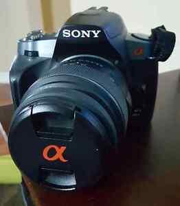 Sony a330 dslr camera + lenses + accessories