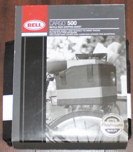 New Bell Cargo 500 Bicycle Rack Shopping Basket