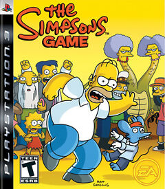 The Simpsons GAME – SONY Playstation 3 / PS3