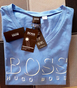 Hugo Boss Men's Slim-Fit V-Neck T-Shirt  Size: Medium