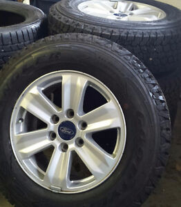 Brand New Winter Tires with Rims - Wrangler 245 70R17