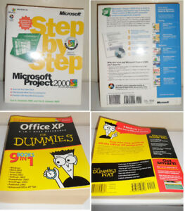 Microsoft Project 2000 and Office XP for dummies Learning Books