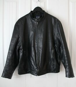 Men's Heavy Black Leather Jacket Kingston Kingston Area image 1