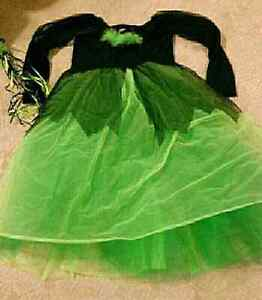 Halloween Costume Witch Child Size 7-9